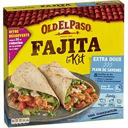 Old El Paso Old El Paso Kit pour tortilla, extra doux la boite de 478 g