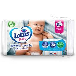Lotus Lotus Baby Cotons bébé peau nette le paquet de 85