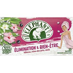 Elephant Eléphant Infusion Elimination & Bien-être la boite de 25 sachets - 40 g