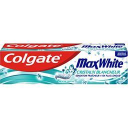 Colgate Colgate Max White - Dentifrice Cristaux Blancheur menthe cristal le tube de 75 ml
