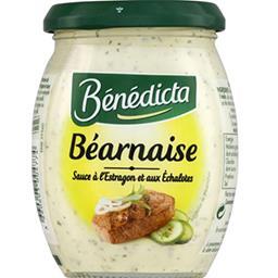 Bénédicta Bénédicta Sauce Béarnaise le pot de 260 g