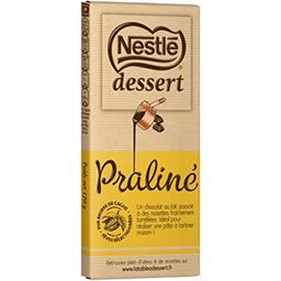 Nestlé Nestlé Dessert Chocolat au lait praliné La tablette de 170g