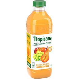 Tropicana Tropicana Pure Premium - Boisson Réveil Fruité 100% pur jus la bouteille de 1 l