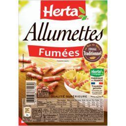 Herta Herta Allumettes fumées la barquette de 200 g