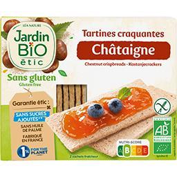 Jardin Bio Jardin bio Tartines craquantes châtaigne BIO la boite de 150 g