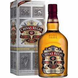 Chivas Regal Chivas Whisky 12 ans d'âge la bouteille de 1 l