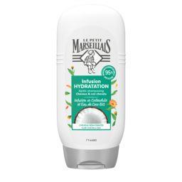 Le Petit Marseillais Le Petit Marseillais Après-shampooing Hydratation Infusion calendula eau de coco le flacon de 200 ml