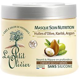 Masque Soin Nutrition huiles d'olive karité argan