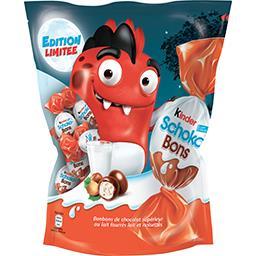 Kinder Kinder Schoko-Bons - Bonbons de chocolat fourrés lait et noisettes le sachet de 500 g
