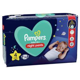 Pampers Pampers Couches culottes Baby Dry Pants taille 4 le paquet de 39 couches