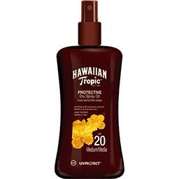 Hawaiian Tropic Hawaiian Tropic Huile sèche Protective coconut & guava SPF 20 le flacon de 200 ml