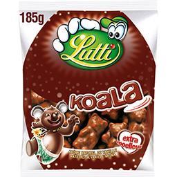 Lutti Lutti Bonbons guimauve Koala chocolat lait le paquet de 185 g