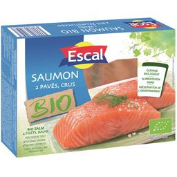 Escal Escal Pavés de saumon BIO la boite de 2 - 250 g
