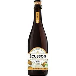 Ecusson Ecusson Cidre doux Bio fruité la bouteille de 75cl