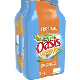 Oasis Oasis Boisson Tropical les 4 bouteilles de 2 l