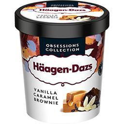 Häagen-Dazs Haagen-Dazs Häagen-Dazs - Glace Pot Vanille Caramel Brownie le pot de 460 g