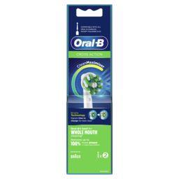 Oral B Oral B Brossette crossaction avec technologie cleanmaximiser Le lot de 2 brossettes