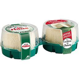 Rians Rians Le Crottin de chèvre les 2 fromages de 60 g