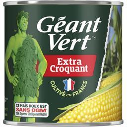Géant Vert Géant Vert Maïs Extra Croquant la boite de 285 g net égoutté