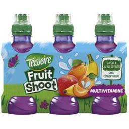 Teisseire Teisseire Fruit Shoot - Boisson multivitaminé les 6 bouteilles de 20 cl