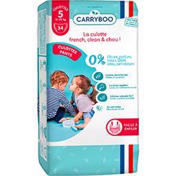 Carryboo Carryboo Couches culottes écologiques Taille 5 : 12-25 kg le paquet de 34