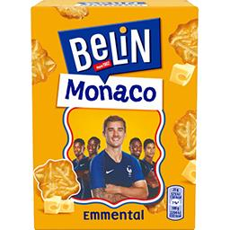 Belin Belin Monaco - Crackers à l'emmental la boite de 100 g