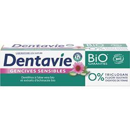 Aloe Drink For Life Dentavie Dentifrice gencives sensibles aloe vera-échinacée BIO le tube de 75 ml