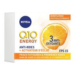 Nivea Nivea Q10 Plus C - Soin de jour défatigant anti-rides + Energie le pot de 50 ml