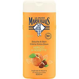 Le Petit Marseillais Le Petit Marseillais Douche & bain crème extra doux abricot & noisette le flacon de 650 ml