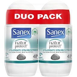 Sanex Sanex Natur Protect - Déodorant Extra Efficacité 48h les 2 roll-on de 50 ml - Duo Pack