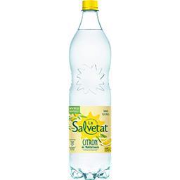Salvetat Salvetat Eau gazeuse citron de méditerranée sans sucres la bouteille de 1,15 l