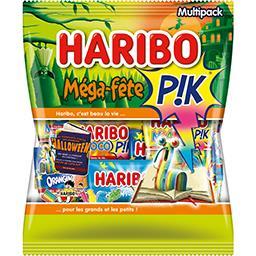 Haribo Haribo Assortiment de bonbons Méga-fête Pik le sachet de 720 g