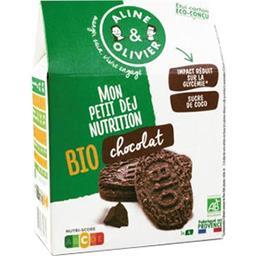 A&O A&O Mes Biscuits du Ptit Dej' BIO chocolat la boite de 20 - 200 g