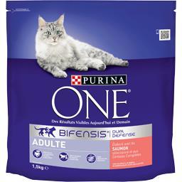 Purina One Purina One Croquettes Bifensis saumon Adulte pour chats le sac de 1,5 kg