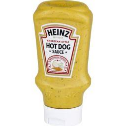 Heinz Heinz Sauce hot dog American style le flacon de 400ml