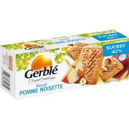 Gerblé Gerblé Biscuits pomme noisette réduit en sucre le paquet de 16 - 230 g
