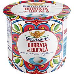 Casa Azzurra Casa azzurra Fromage Burrata di Buffala le pot de 200 g net égoutté