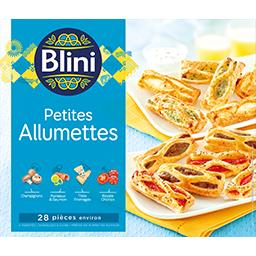 Blini Blini Petites allumettes la boite de 28 pièces - 310 g