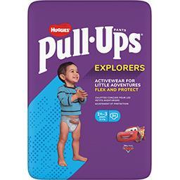 Huggies Huggies Pull-Ups - Couches-culottes garçon Explorers, 12-17 kg le paquet de 34
