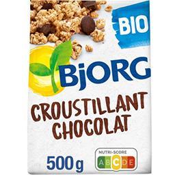 Bjorg Bjorg Céréales Croustillant chocolat BIO la boite de 500 g