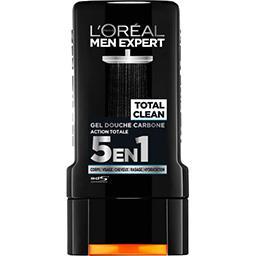 L'Oréal L'Oréal Paris Men Expert - Gel douche carbone Total Clean action totale 5 en 1 le flacon de 300 ml