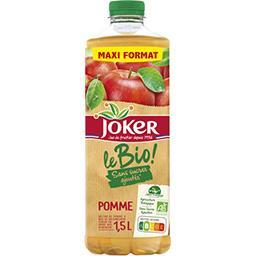 Joker Joker Le BIO! - Nectar de pomme sans sucres ajoutés BIO la bouteille de 1,5 l