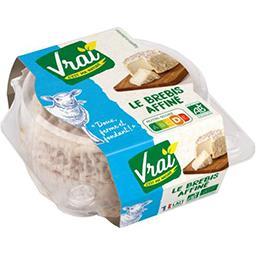Vrai  Vrai Fromage affiné au lait de brebis BIO la barquette de 140 g