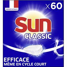 Sun Sun Classic - Tablettes lave-vaisselle la boite de 60 - 570 g