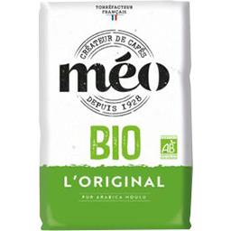 Méo Méo Café moulu BIO pur arabica le paquet de 500 g