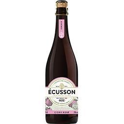 Ecusson Ecusson Cidre rosé naturel la bouteille de 75cl