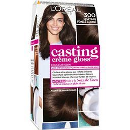 L'Oréal L'Oréal Paris Casting Crème Gloss - Couleur soin sans ammoniaque châtain foncé 300 la boite