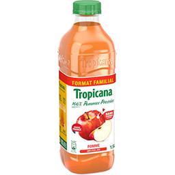 Tropicana Tropicana Jus de pomme pressée la brique de 1,5 l - Format Familial