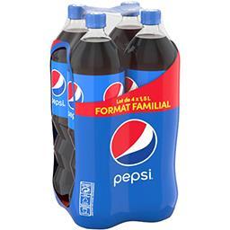 Pepsi Pepsi Soda au cola les 4 bouteilles de 1,5 l
