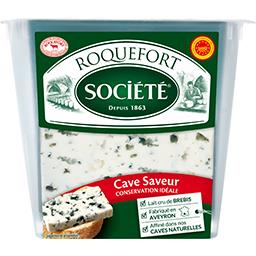 Société Société Roquefort AOP la boite de 150 g